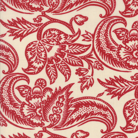 Madame Rouge Terre Pearl Rouge 13771 18 Moda Fabric