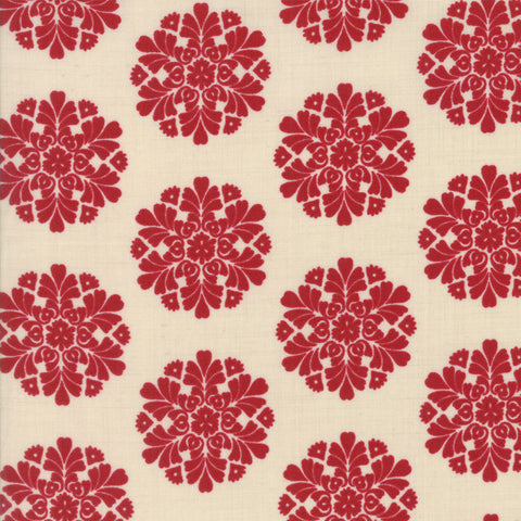 Madame Rouge Soleil Pearl Rouge 13773 12 Moda Fabric