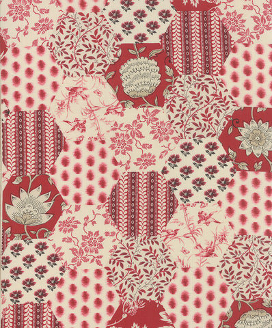 La Vie En Rouge 13820-13 Moda Fabric