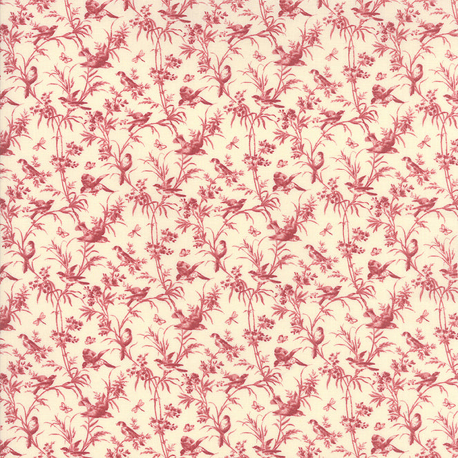 La Vie En Rouge 13823-12 Moda Fabric