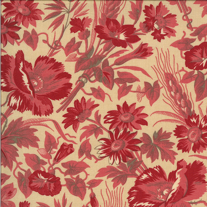 La Rose Rouge 13881 16 Moda Fabric - Pre-Order September Delivery