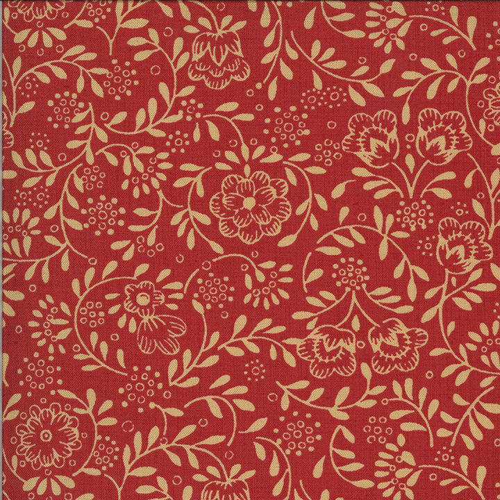 La Rose Rouge 13887 12 Moda Fabric - Pre-Order September Delivery