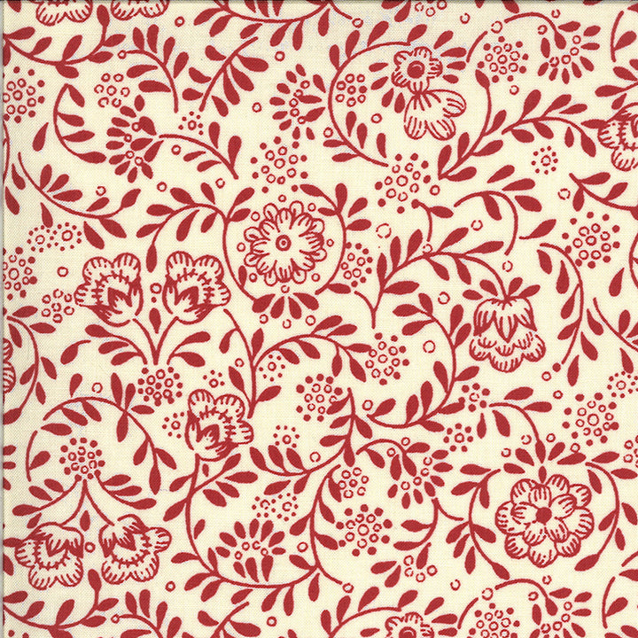 La Rose Rouge 13887 15 Moda Fabric