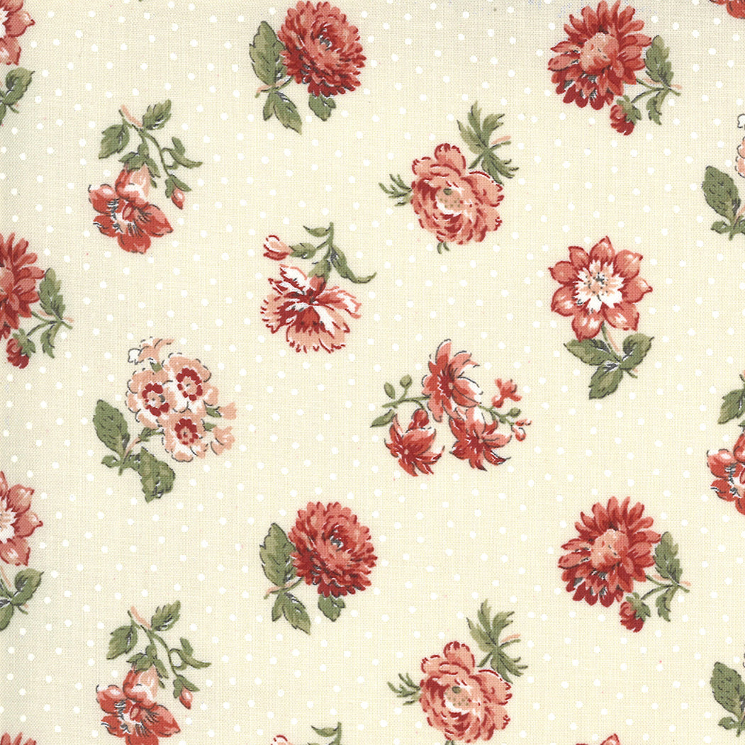 Jardin de Fleurs 13893 18 Moda Fabric - Pre-Order March 2021 Delivery