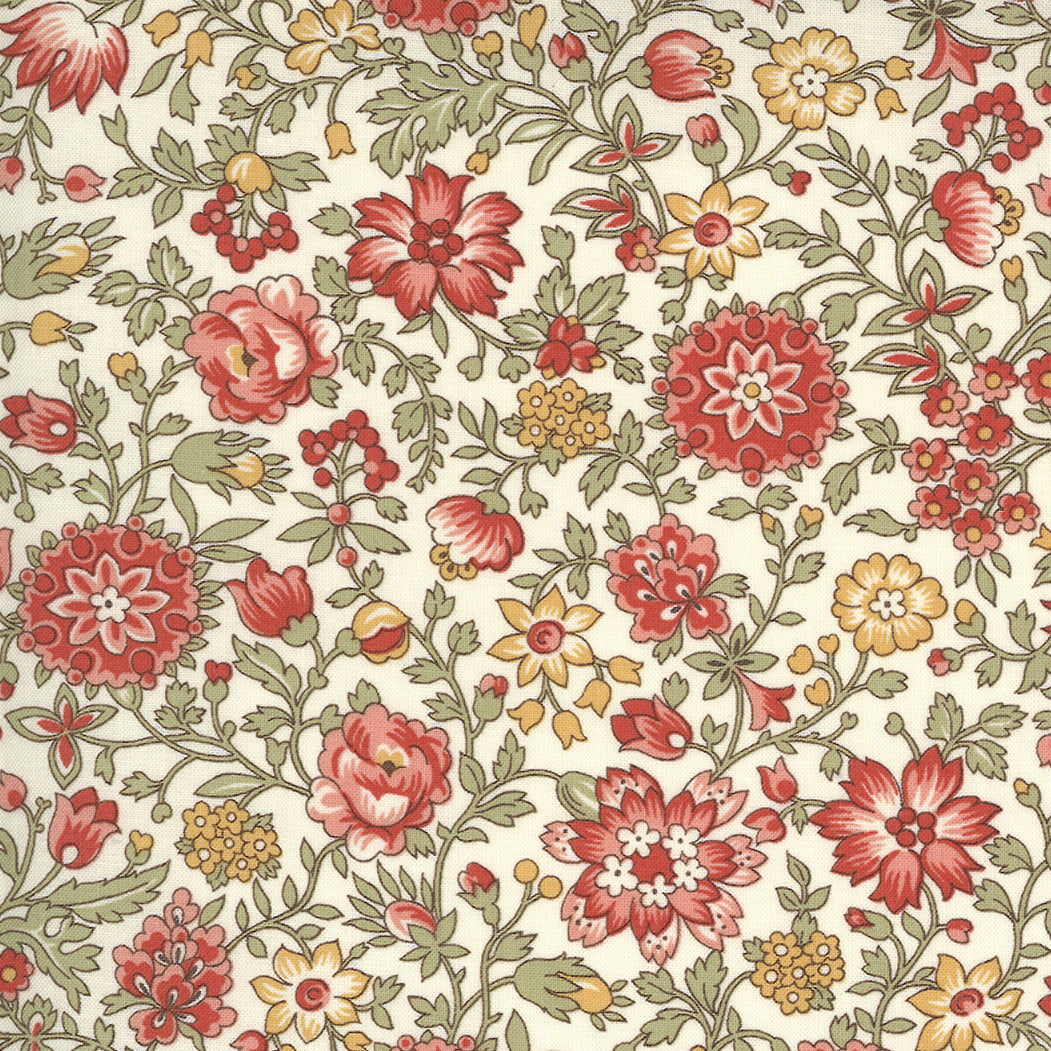 Jardin de Fleurs 13894 20 Moda Fabric - Pre-Order March 2021 Delivery