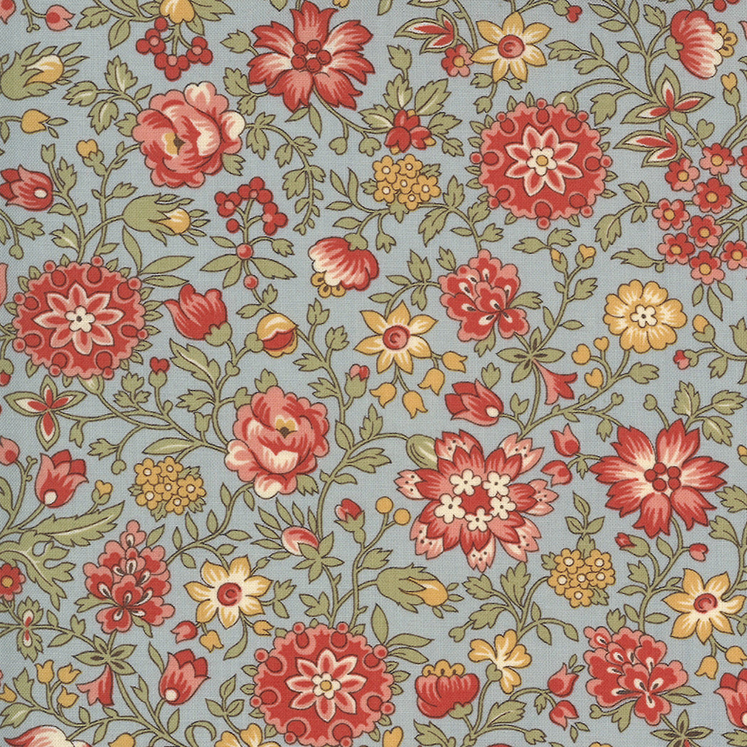 Jardin de Fleurs 13894 22 Moda Fabric - Pre-Order March 2021 Delivery