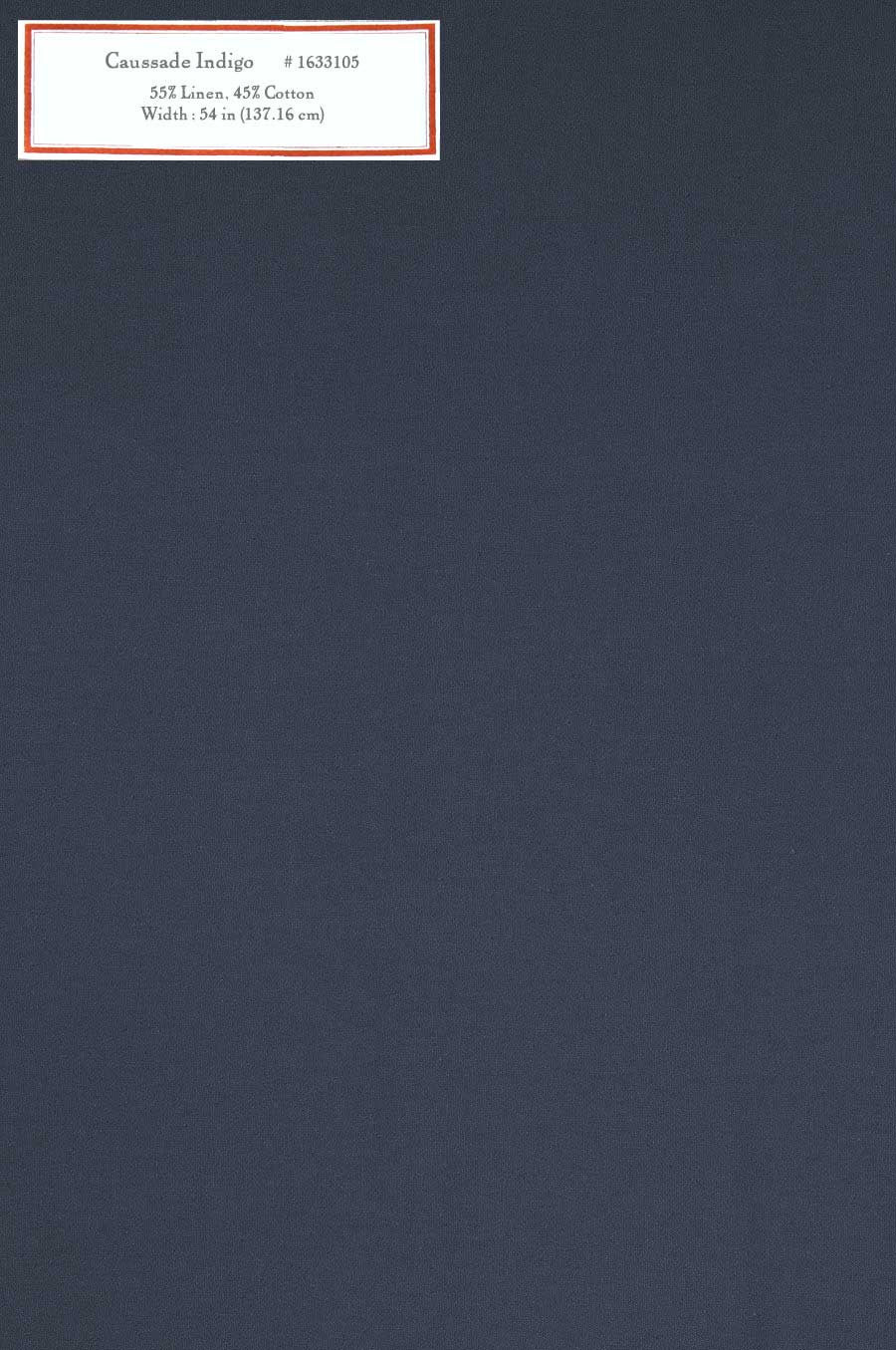Home Decorative Fabric - Caussade Indigo
