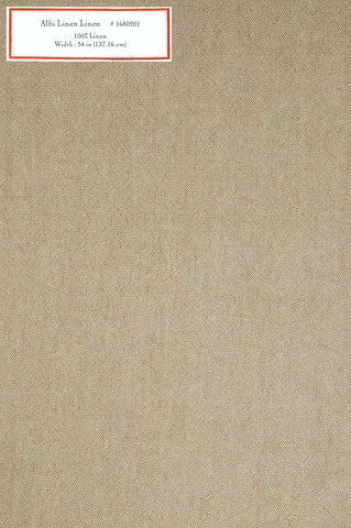 Home Decorative Fabric - Albi Linen Linen