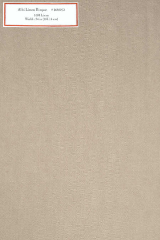 Home Decorative Fabric - Albi Linen Bisque