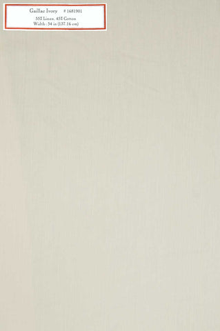 Home Decorative Fabric - Gaillac Ivory