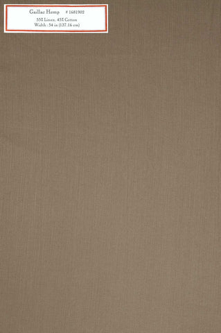 Home Decorative Fabric - Gaillac Hemp