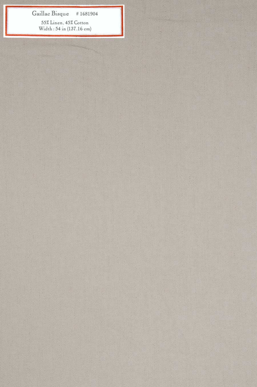 Home Decorative Fabric - Gaillac Bisque