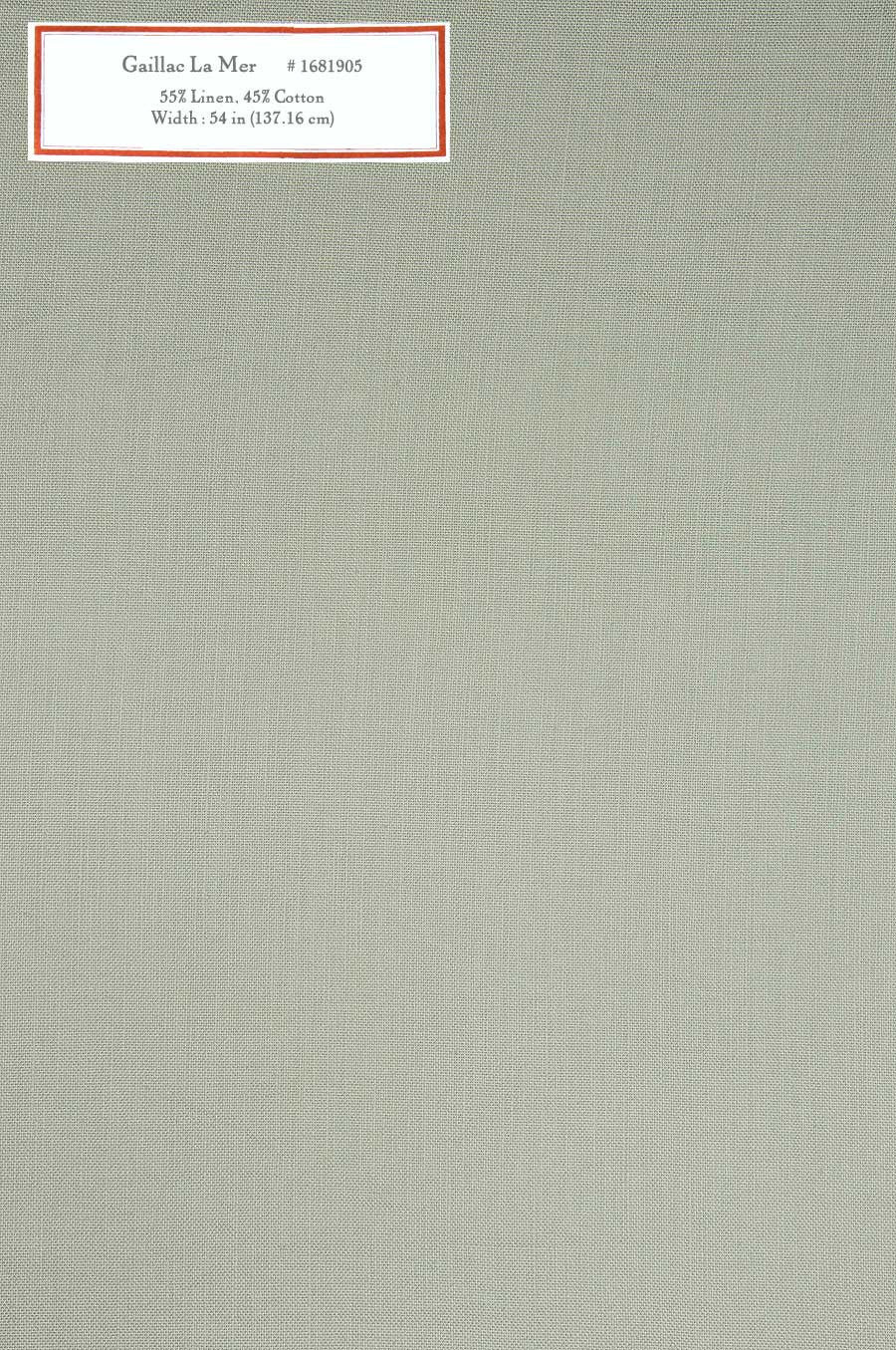 Home Decorative Fabric - Gaillac La Mer