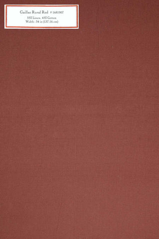 Home Decorative Fabric - Gaillac Rural Red