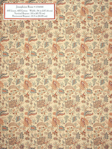 Home Decorative Fabric - Josephine Rose