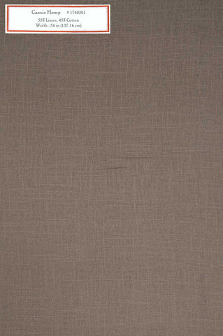 Home Decorative Fabric - Cassis Hemp