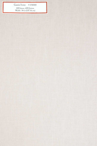 Home Decorative Fabric - Cassis Ivory