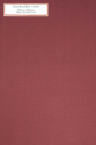 Home Decorative Fabric - Cassis Rural Red