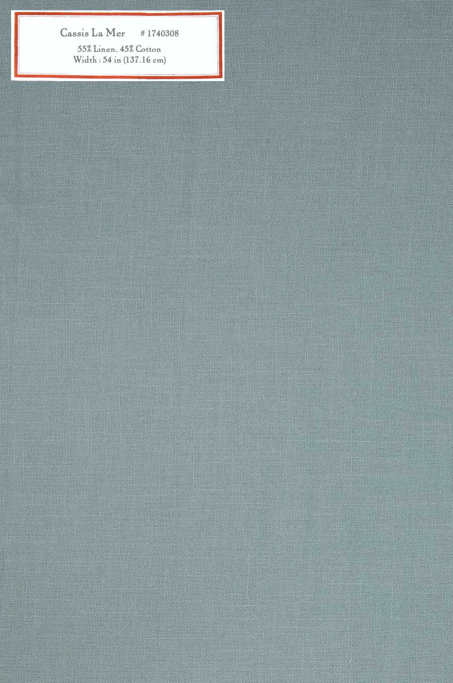 Home Decorative Fabric - Cassis La Mer