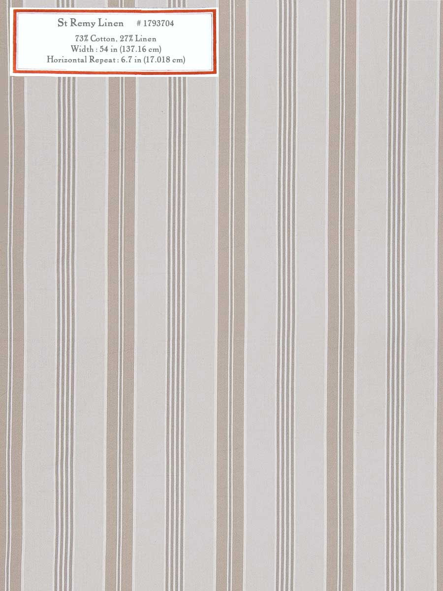 Home Decorative Fabric - St Remy Linen