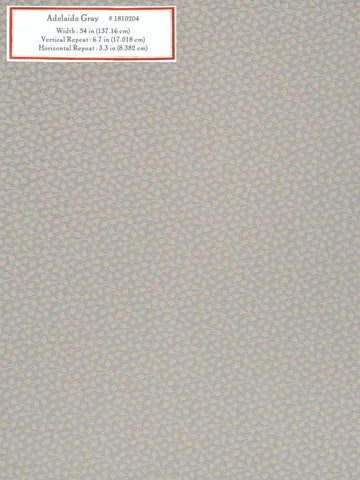 Home Decorative Fabric - Adelaide Gray