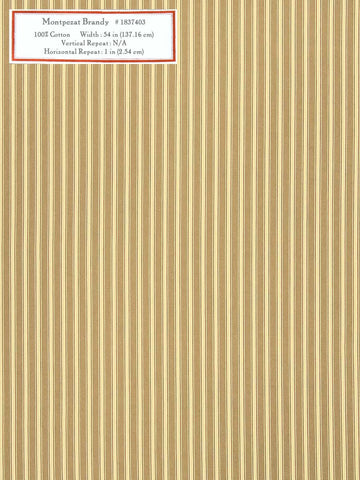 Home Decorative Fabric - Montpezat Brandy