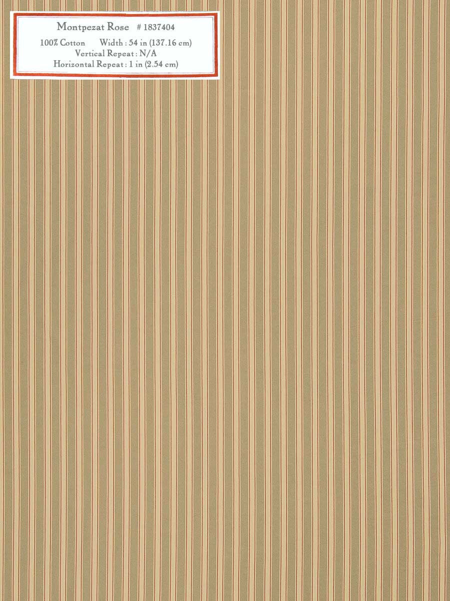 Home Decorative Fabric - Montpezat Rose