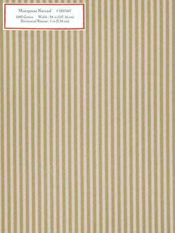 Home Decorative Fabric - Montpezat Natural