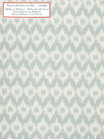 Home Decorative Fabric - Flamme De France La Mer