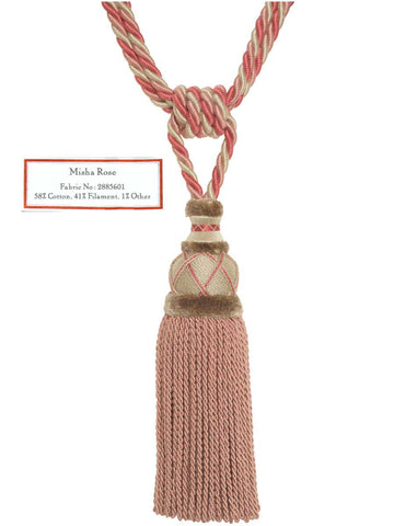 Trim - Misha Rose Tassel