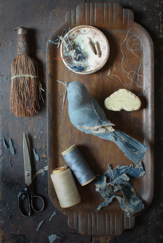Hand-Stitched Songbird with Ann Wood / Friday, April 5th / 10-6pm
