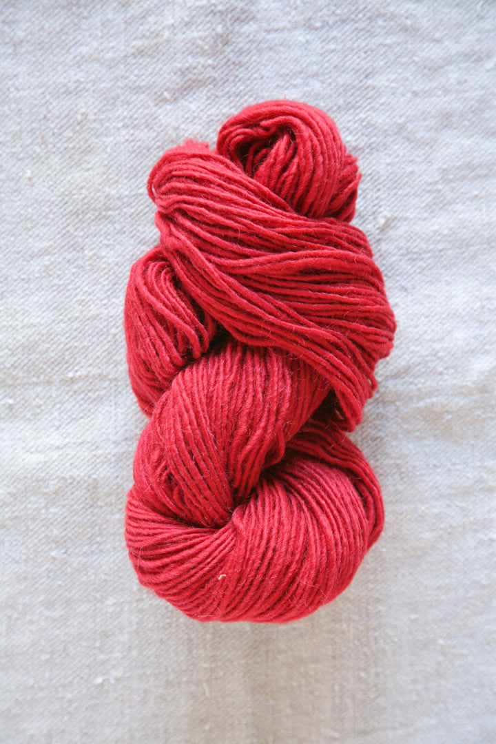 Classic Red Wool Skein