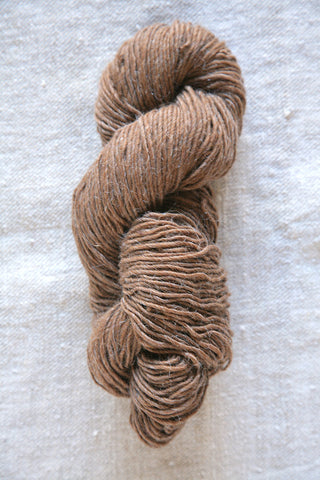 Buffalo Brown Wool Skein