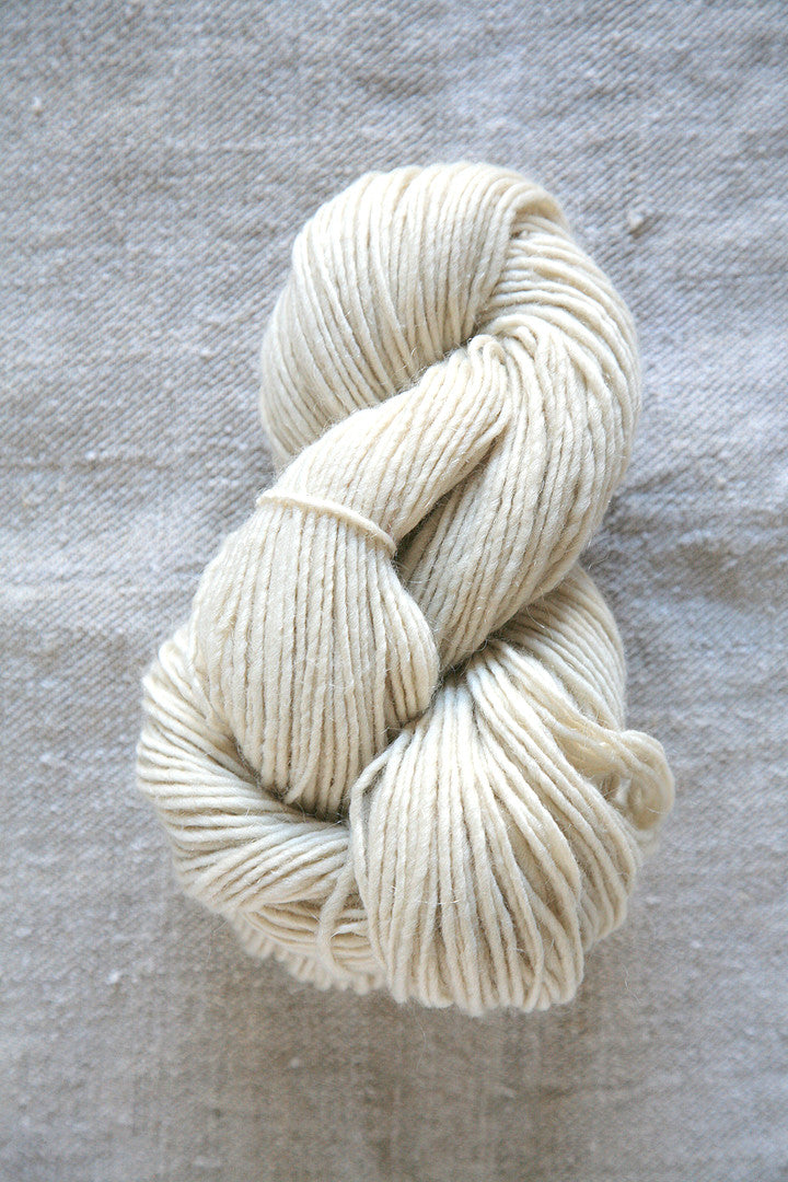 Cream Aran Wool Skein