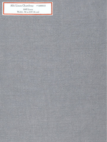 Home Decorative Fabric - Albi Linen Chambray
