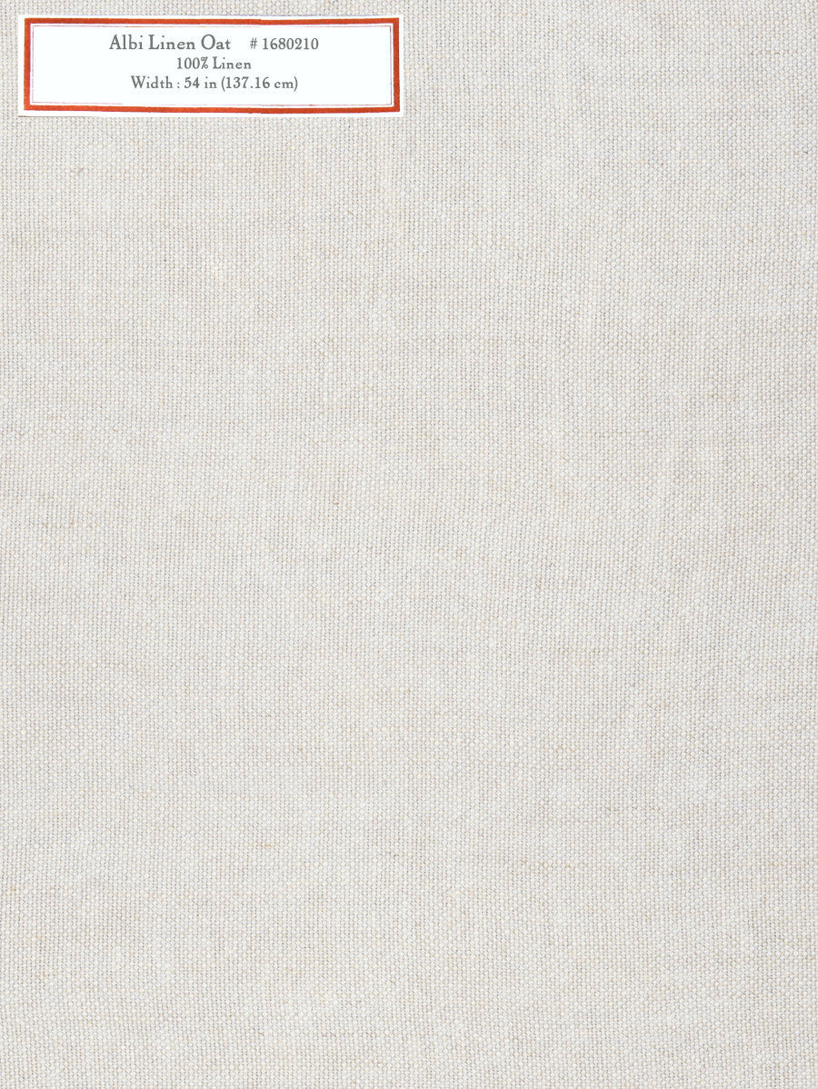 Home Decorative Fabric - Albi Linen Oat