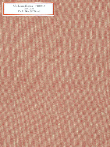Home Decorative Fabric - Albi Linen Sienna