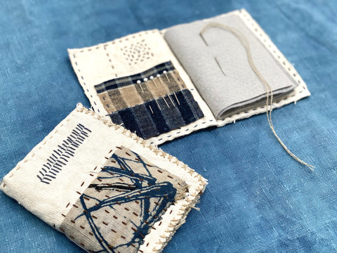 Live Zoom Workshop: Mending Sampler Needle Book with Jody Alexander / Saturday, January 9th / 1-5pm Pacific Time