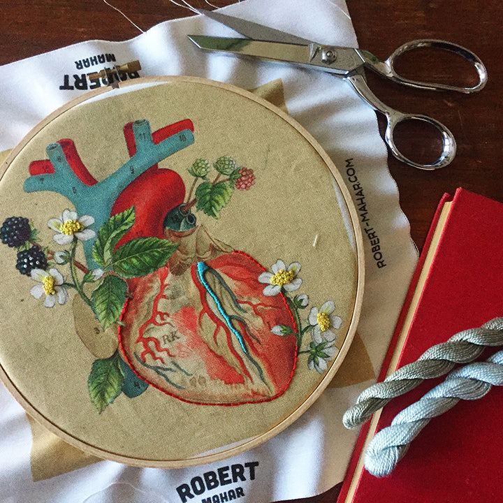 Anatomical Embroidery / Saturday, October 27th / 10-1pm