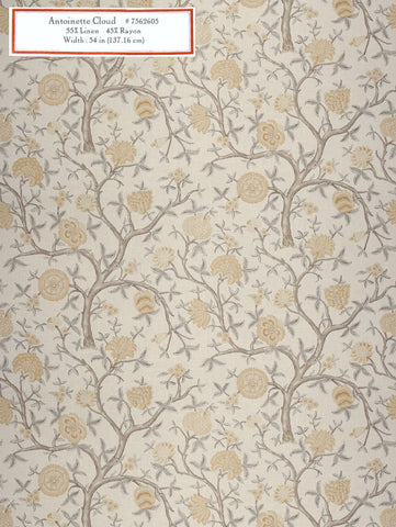 Home Decorative Fabric - Antoinette Cloud