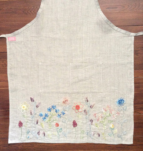 French General Linen Apron