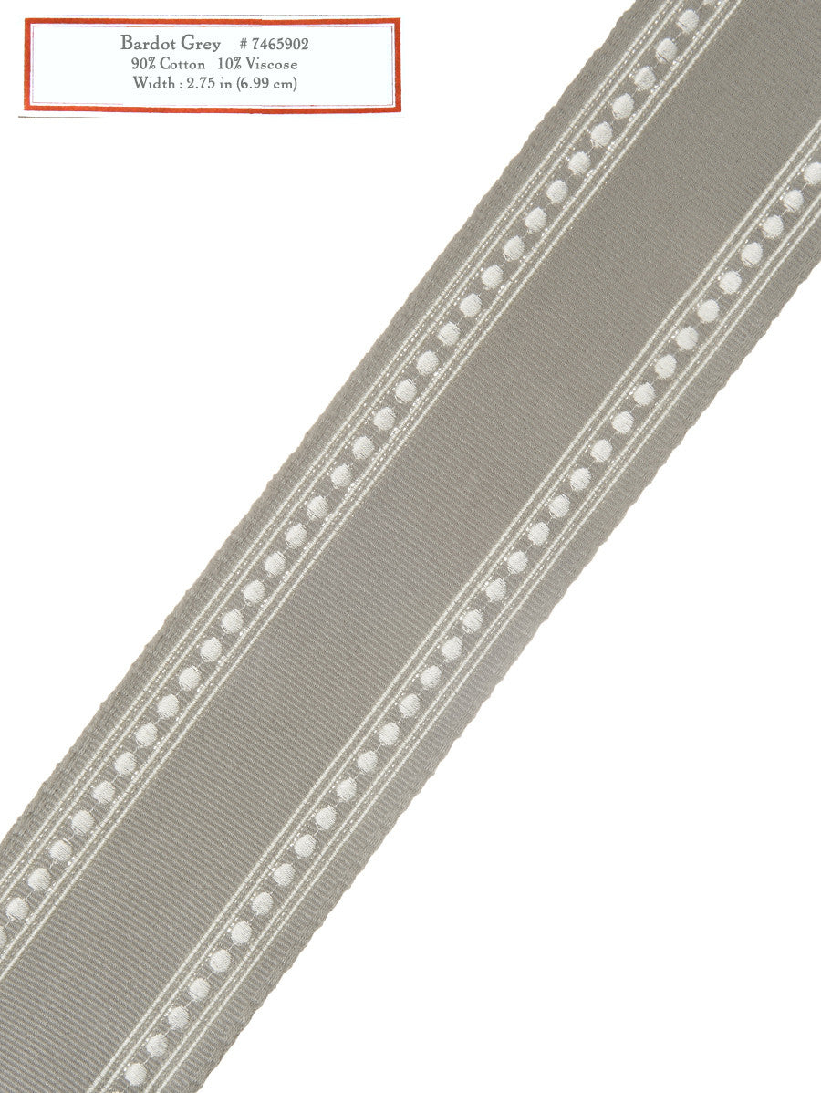 Home Decorative Trim - Bardot Grey