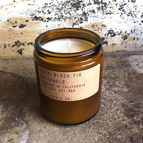 Soy Candle - Black Fig