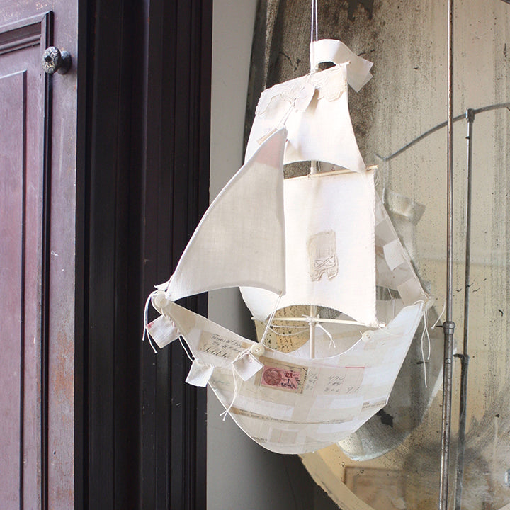 French Paper Ships with Ann Wood / Saturday and Sunday, October 19th and 20th / 10-4pm