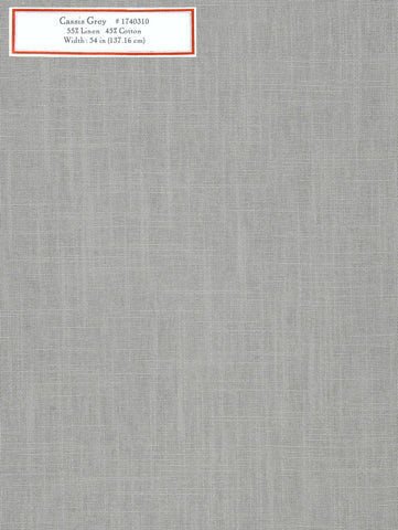 Home Decorative Fabric - Cassis Grey