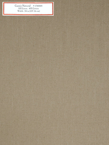 Home Decorative Fabric - Cassis Natural