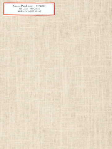 Home Decorative Fabric - Cassis Parchment