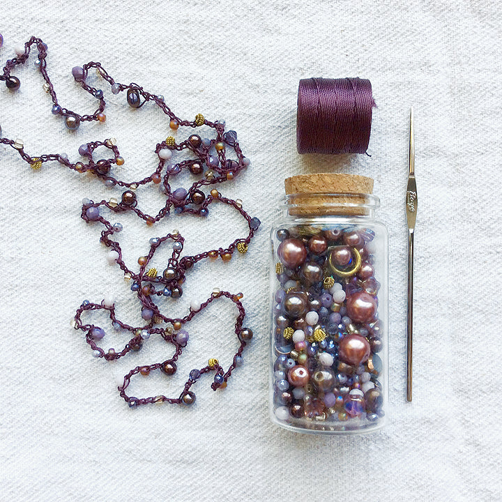 Beaded Crochet Necklace Workshop / Saturday, August 3rd / 12-3pm