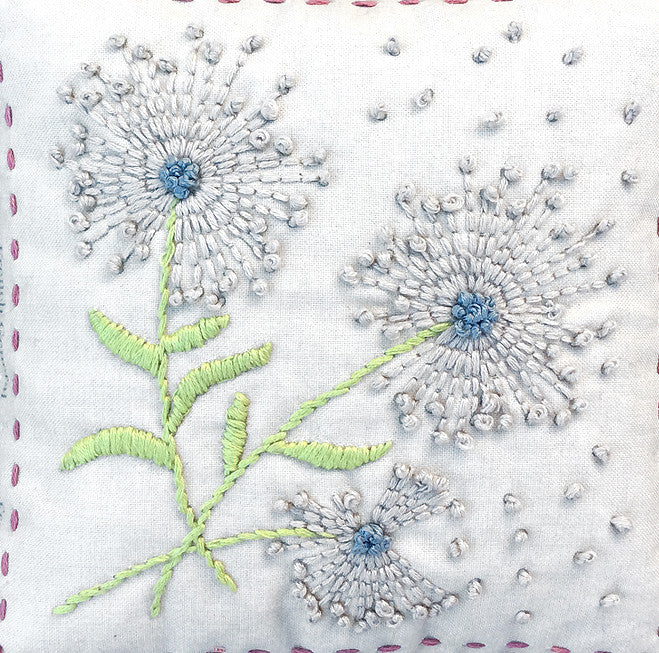 Dandelion Embroidery Sampler