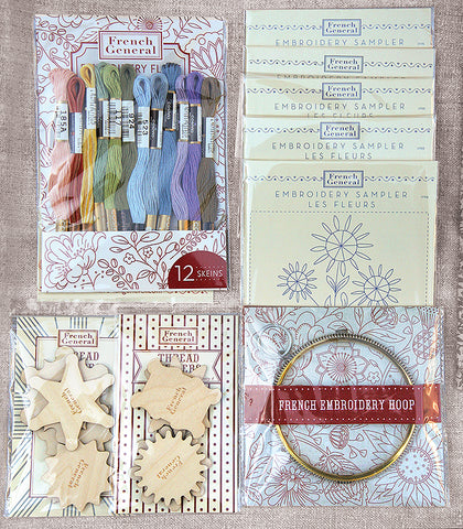 Deluxe Embroidery Stitching Kit